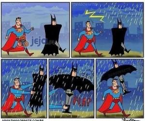 Zapomniałem wziąć Batmana z domu, a pada