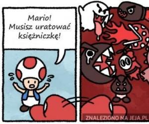 Mario, ratuj!