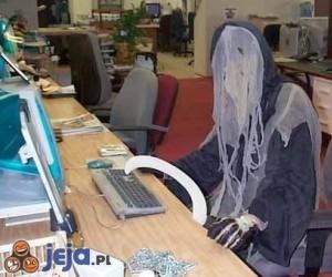 Śmierć przy komputerze