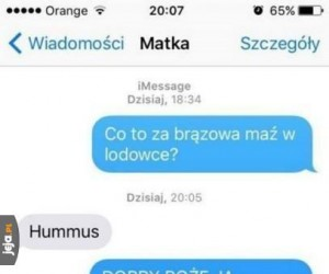Co to za brązowa maź?