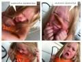 Dziewczynka i gąsieniczka