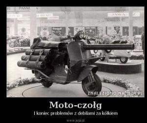 Moto-czołg