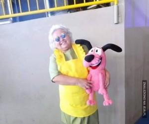 Cosplay Muriel - robisz to genialnie, babciu!
