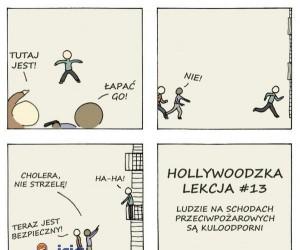 Hollywood bawi i uczy