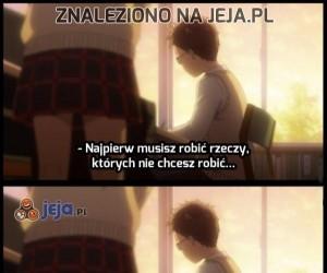 Mądre słowa z anime