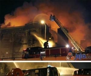 Pożar magazynu w Chicago