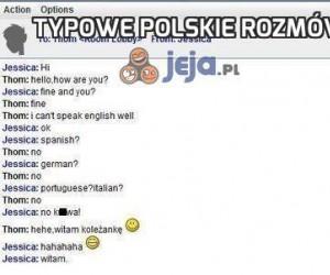 Typowe polskie rozmówki za granicą