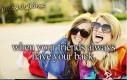 Ach, ci dobrzy przyjaciele...