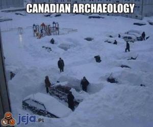 Kanadyjscy archeolodzy