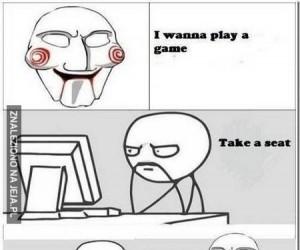Chciałbym zagrać w grę...