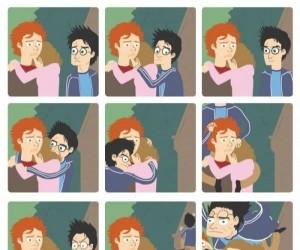 Harry też chce się przytulić!