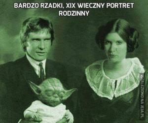 Bardzo rzadki, XIX wieczny portret rodzinny