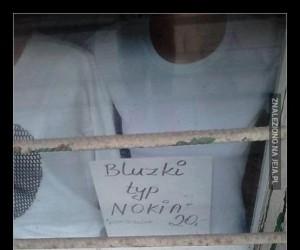 Bluzki typu NOKIA