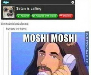 Jezus, słucham?