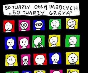 """50 twarzy oglądających """"50 twarzy Grey'a"""""""
