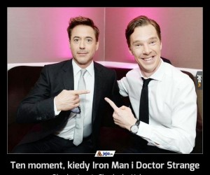 Ten moment, kiedy Iron Man i Doctor Strange