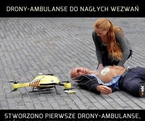 Drony, wszędzie drony!