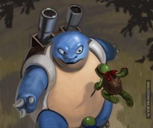 Prawdziwy koksu wśród żółwi