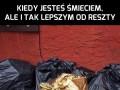 Król wśród śmieci