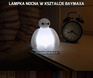 Lampka nocna w kształcie Baymaxa