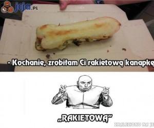 """""""Rakietowa"""" kanapka"""