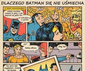 Dlaczego Batman się nie uśmiecha