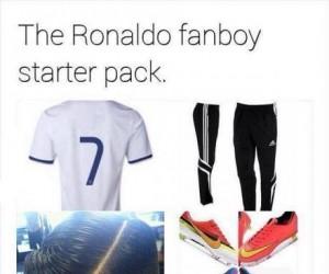 Pakiet startowy fanów Ronalda
