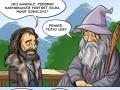 Gandalf rysownik