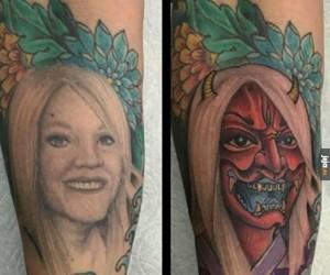 Tatuaż z ex