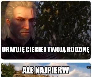 Dobry ziomek Geralt