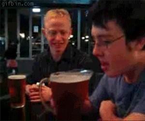 Kiedy cały dzień czekałeś na to, by napić się piwka