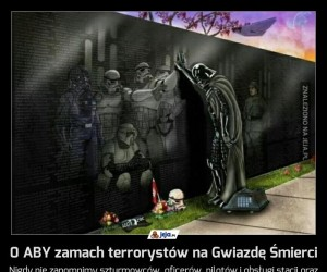 0 ABY zamach terrorystów na Gwiazdę Śmierci