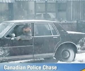 Pościg w Kanadzie