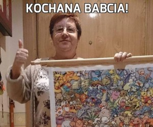 Kochana babcia!