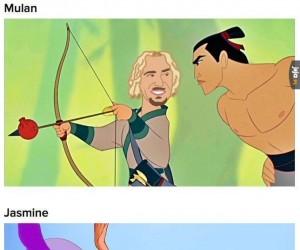 Gdyby królewny Disneya były Chadem Kroegerem z Nickelbacka