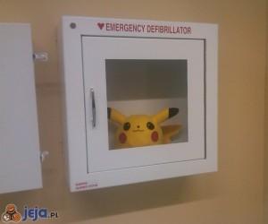 Zapasowy defibrylator