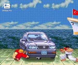 Gdy piłka utknie pod autem