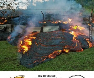To tylko trochę magmy, nie wywiniesz się...