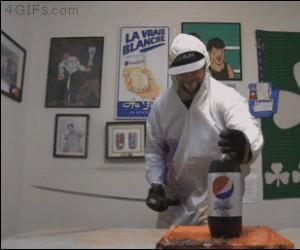 Miecz + Pepsi + Mentos