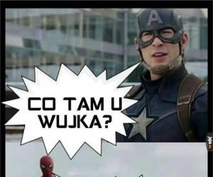 Spiderman 1:0 Kapitan Ameryka