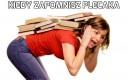 Kiedy zapomnisz plecaka