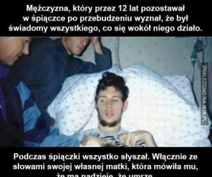 Świadoma śpiączka