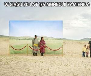 W ciągu 30 lat 1/4 Mongolii zamieniła się w pustynię