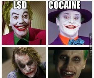 Joker po różnych dragach