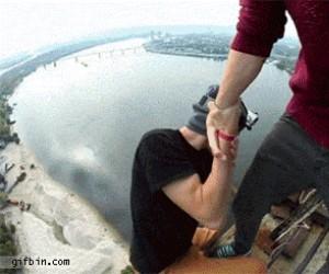 Mamo patrz! Nie boję się wysokości