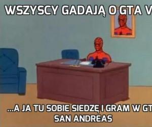 Wszyscy gadają o GTA V...