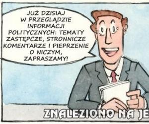 Już dzisiaj w przeglądzie informacji politycznych!