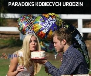 Paradoks kobiecych urodzin