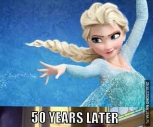Elsa, aleś wyrosła...