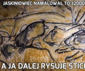 Jaskiniowiec namalował to 32000 lat temu